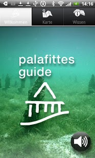 Palafittes Guide App Screenshot