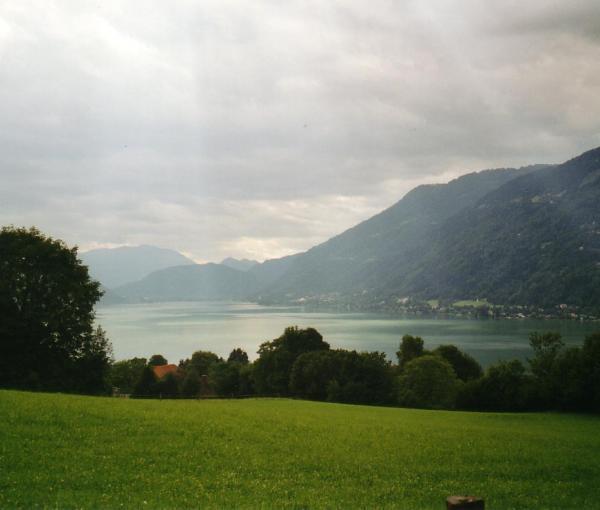 Ossiacher See in Kärnten (Bild: CC BY-SA 3.0 - Jonaslange/Wikipedia)