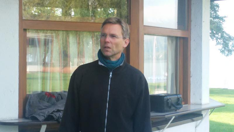 Henrik Pohl leitet auch den zweiten Teil der Zeitensprung-Kampagne 2017 in Weyregg II. (Bild: Kuratorium Pfahlbauten - C. Löw)
