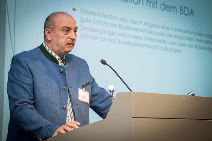 Mike Bader vom Netzwerk Geschichte Österreich (Photo: AGES).