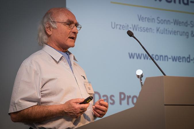 Gerhard Fritz vom Kalendersteinexperiment (Photo: AGES).