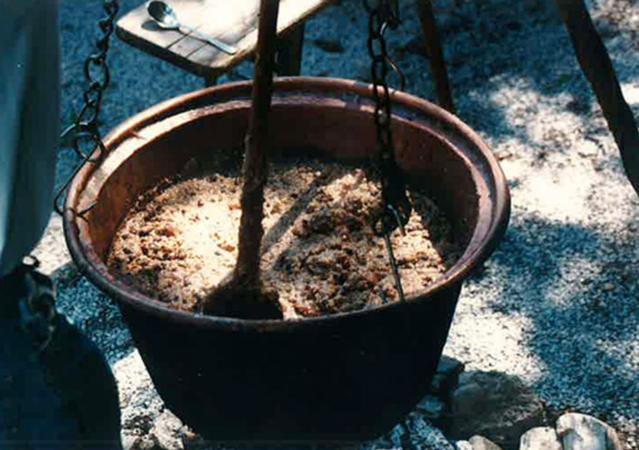Ein Ritschert nach dem Rezept von Eckart Barth. (Bild: Fam. Barth)