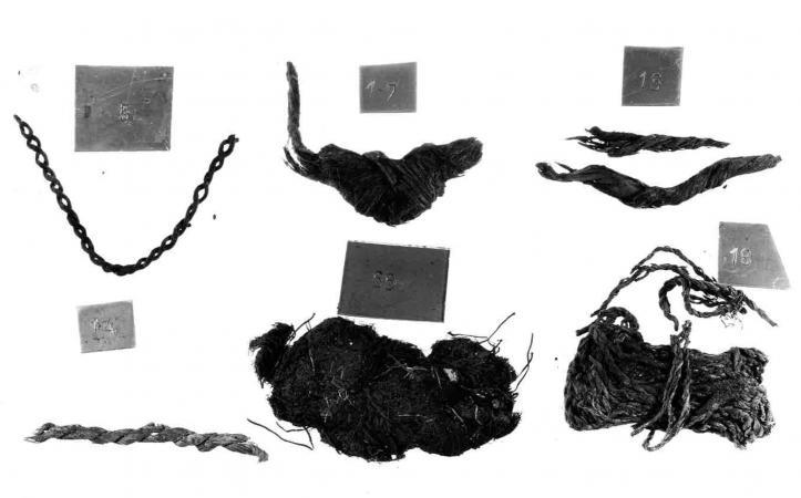 Fotografien der Schnurreste aus See am Mondsee. (Bild: Kuratorium Pfahlbauten)