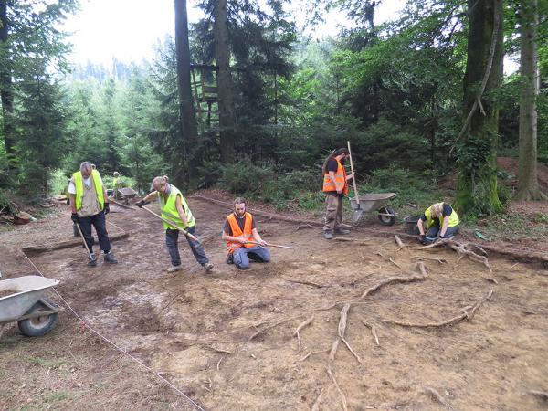 Die Grabungsareale können am Tag der Offenen Ausgrabung besichtigt werden. (Bild: Grabungsteam Universität Wien)