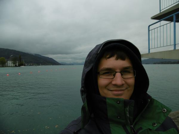 Florian Ostrowski hat die Grabungsmannschaft in Seewalchen am Attersee zwei Wochen lang unterstützt. (Bild: Ostrowski  - Kuratorium Pfahlbauten)