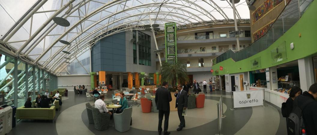 Der Campus der Universität Bradford. (Bild: Kuratorium Pfahlbauten)