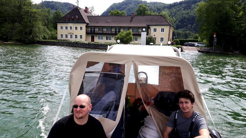 Die Forschungstaucher Markus Hochhold und Max Fiederling. (Bild: Team Zeitensprung)