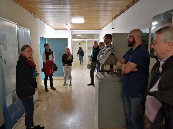 Führung durch das Landesamt für Denkmalpflege in Hemmenhofen. Foto: Helena Seidl da Fonseca