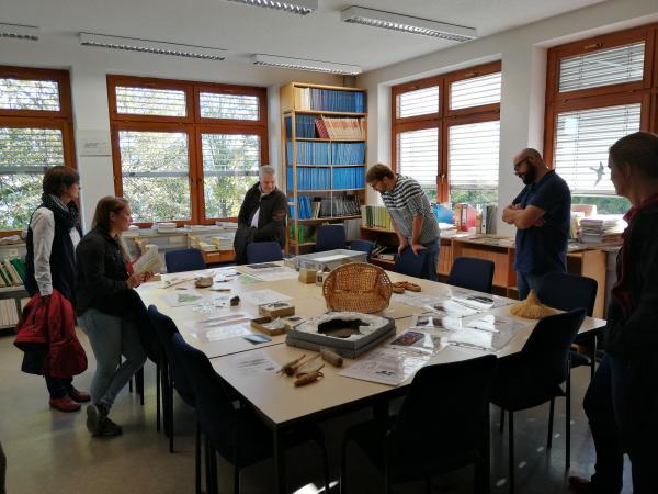 Hemmenhofen betreut jedoch auch Landgrabungen in seinem Verwaltungsgebiet. Foto: Helena Seidl da Fonseca