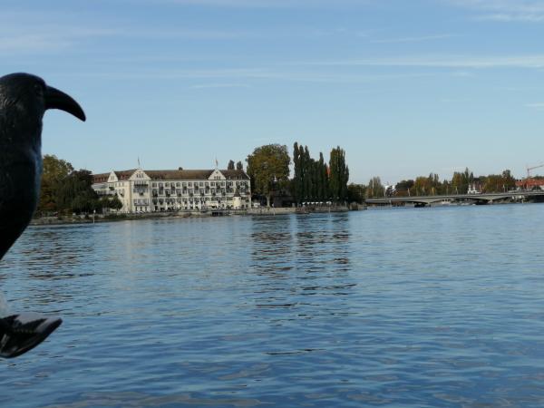 Die Pfahlbauten im Bodensee - auch hier ein unsichtbares UNESCO-Welterbe. Foto: Helena Seidl da Fonseca