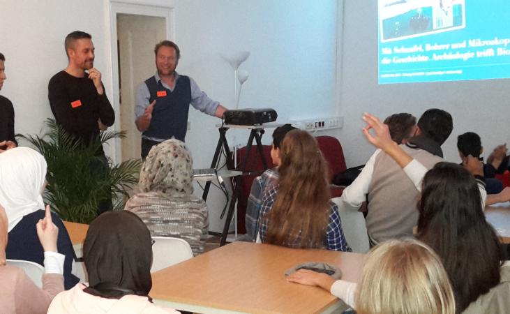 Einführung in den Workshop   (Bild: Kuratorium Pfahlbauten)