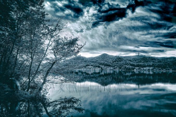 Der Keutschacher See im Sommer 2013. (Bild: Michael Tavernaro)