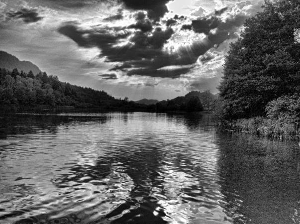 Der Keutschacher See im Spätsommer 2013. (Bild: Michael Tavernaro)