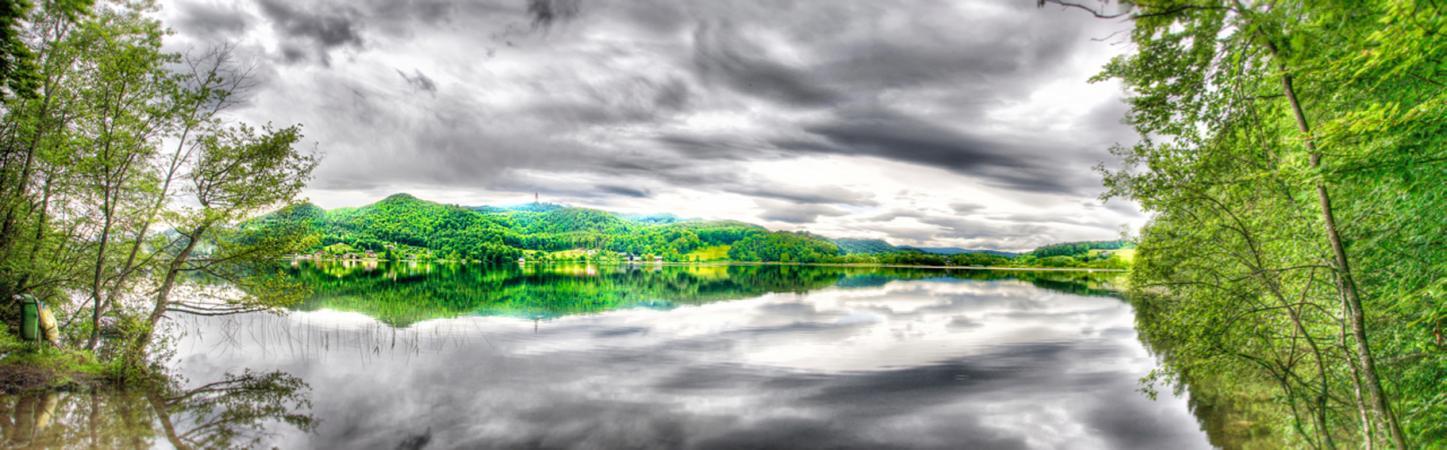 Panorama vom Keutschacher See (Bild: Michael Tavernaro)