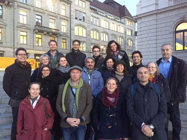 Gruppenfoto von unserem Treffen in Zürich. (Bild: ICG)