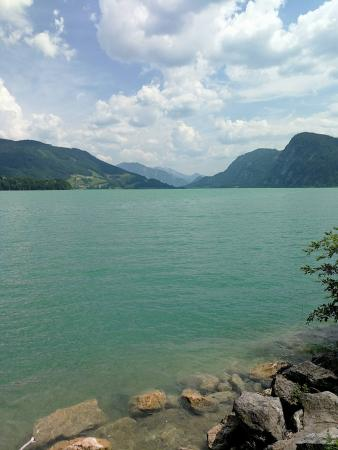 Der wunderschöne Mondsee. (Bild: Team Zeitensprung)