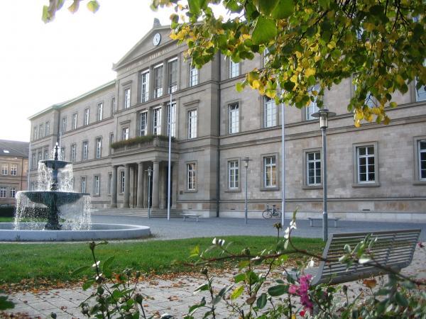 Der Tagungsort war die Neue Aula in Tübingen. (Bild: M. Weitzel)