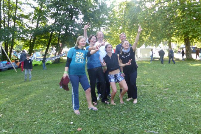 Wir hatten große Freude an der Palafittes Regatta. (Bild: Kowarik)