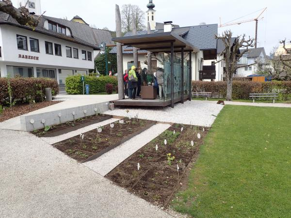 Pfahlbau-Pavillon in Attersee