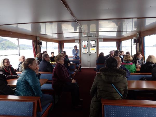 Schifffahrt auf dem Attersee