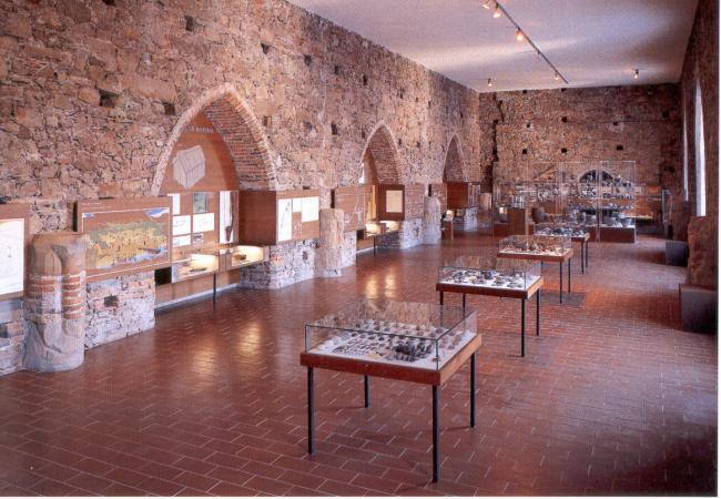 Nicht nur die Funde im Steinernen Saal des Pfahlbaumuseums Mondsee sind sehenswert. (Bild: Heimatbund Mondseeland)