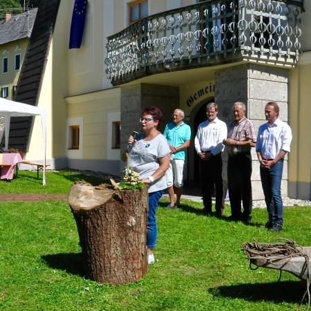 Eröffnung 2. Kärntner Welterbefest August 2015 (Bild: Michael Tavernaro - Kuratorium Pfahlbauten)