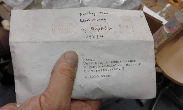 Auch Funde aus Aufsammlungen aus den Jahren 1976 und 1977 des Buchbergs werden neu aufgenommen und können besichtigt werden.