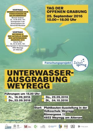 Programm zu Unterwasser-Ausgrabung